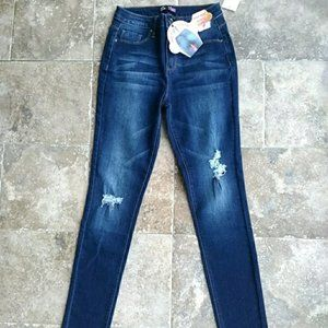 YMI Jeans - Hide your muffin top high waisted jeans size 3